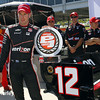 April 26: Will Power Pole winner during qualifying for the Honda Grand Prix of Alabama.