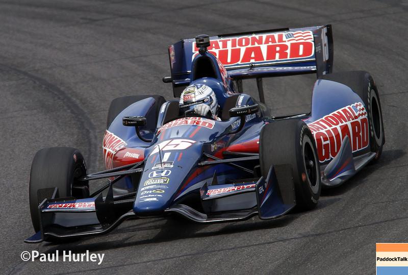 April 27: Graham Rahal during the Honda Grand Prix of Alabama.