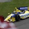 April 27: Marco Andretti during the Honda Grand Prix of Alabama.