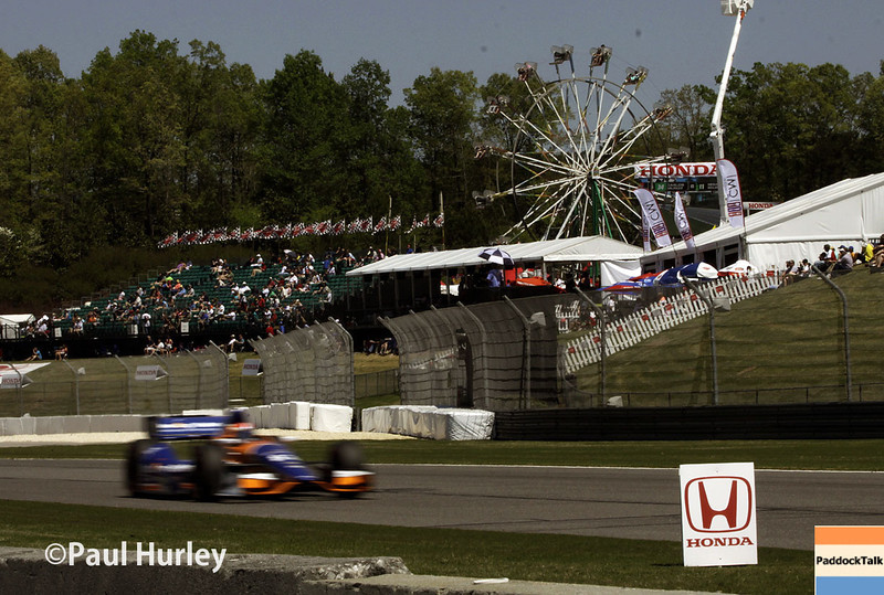 April 26: Track action during qualifying for the Honda Grand Prix of Alabama.
