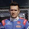April 26: Mikhail Aleshin during qualifying for the Honda Grand Prix of Alabama.