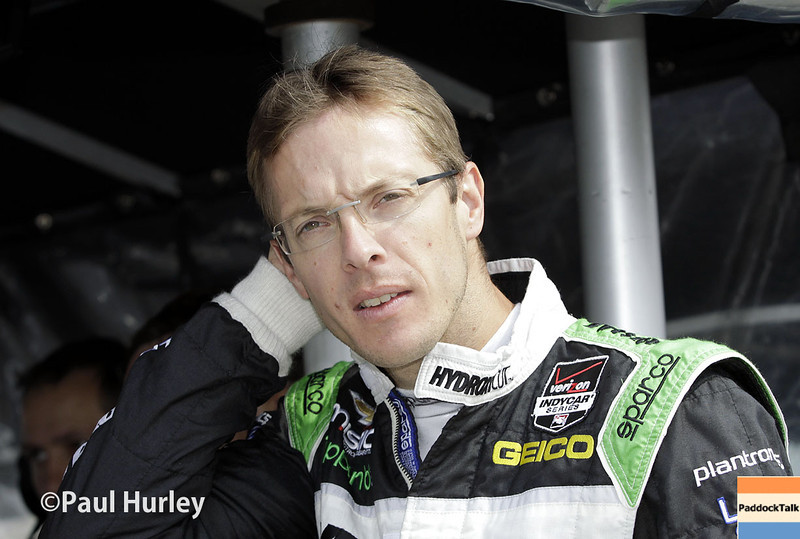 April 27: Sebastien Bourdais during the Honda Grand Prix of Alabama.