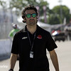 June 1: Dario Franchitti during qualifying for Race 2 of the Chevrolet Detroit Belle Isle Grand Prix.
