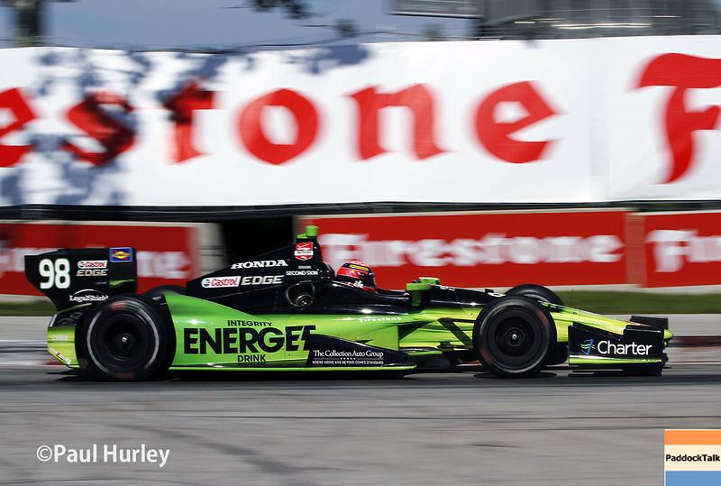 June 1: Jack Hawksworth during Race 2 of the Chevrolet Detroit Belle Isle Grand Prix.