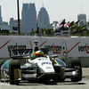 May 30: Mike Conway during practice for the Chevrolet Detroit Belle Isle Grand Prix.