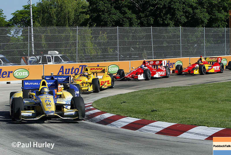 May 31: Track actoin during Race 1 of the Chevrolet Detroit Belle Isle Grand Prix.