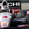 June 1: Helio Castroneves during Race 2 of the Chevrolet Detroit Belle Isle Grand Prix.