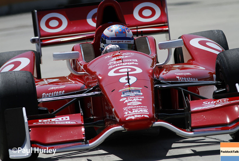 May 30: Scott Dixon during practice for the Chevrolet Detroit Belle Isle Grand Prix.