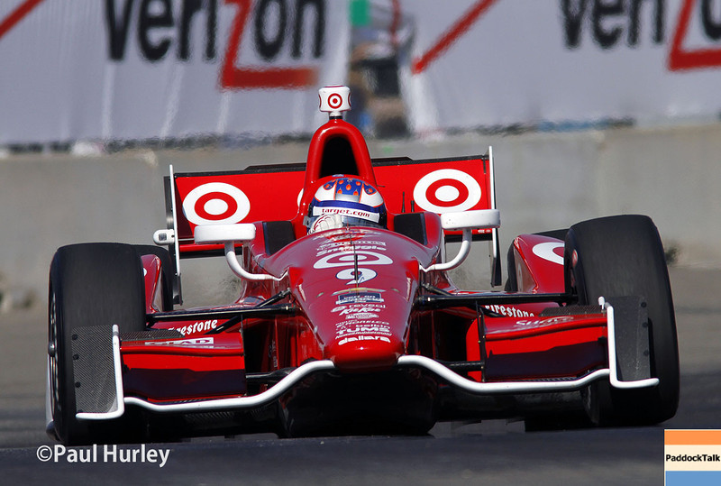 May 31: Scott Dixon during qualifying for Race 1 of the Chevrolet Detroit Belle Isle Grand Prix.