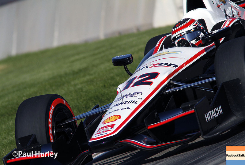 Will Power and his No. 12 Team Penske Chevrolet has won the Chevrolet Indy Dual In Detroit race one on the street circuit on Belle Isle.