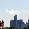 May 31: Flyover before Race 1 of the Chevrolet Detroit Belle Isle Grand Prix.