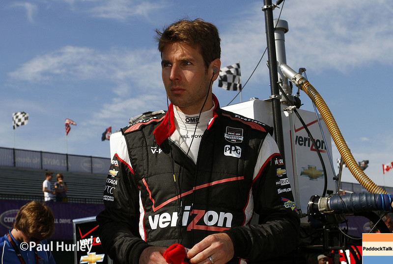 June 1: Will Power during qualifying for Race 2 of the Chevrolet Detroit Belle Isle Grand Prix.