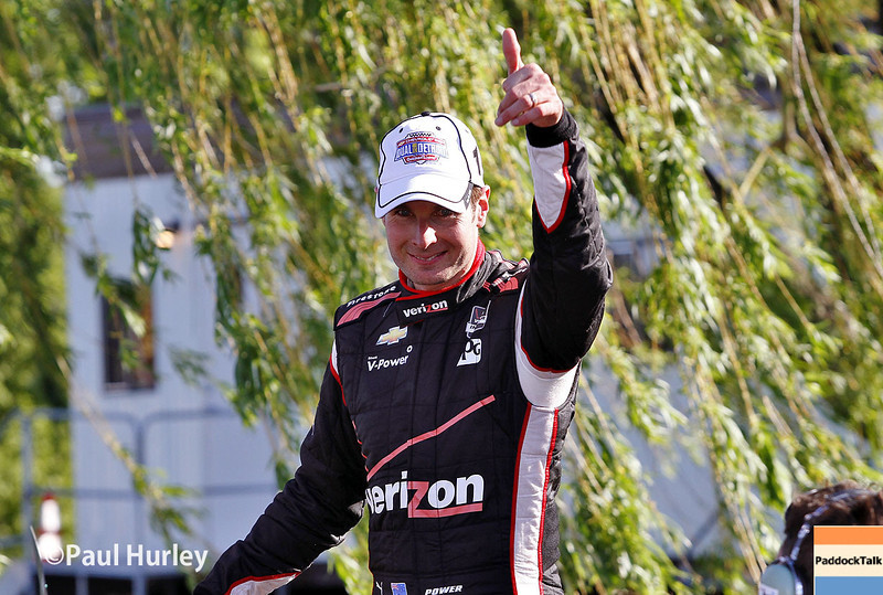 May 31: Will Power before Race 1 of the Chevrolet Detroit Belle Isle Grand Prix.