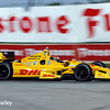 June 1: Ryan Hunter-Reay during Race 2 of the Chevrolet Detroit Belle Isle Grand Prix.