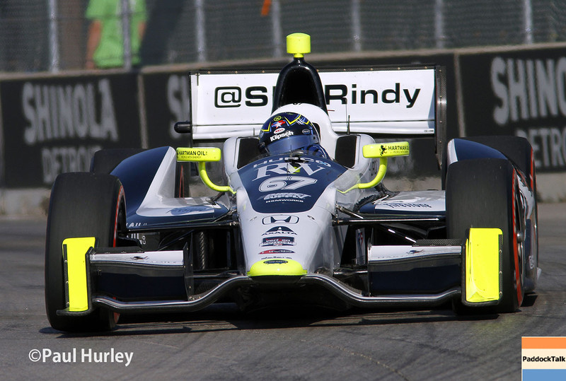 May 31: Josef Newgarden during qualifying for Race 1 of the Chevrolet Detroit Belle Isle Grand Prix.
