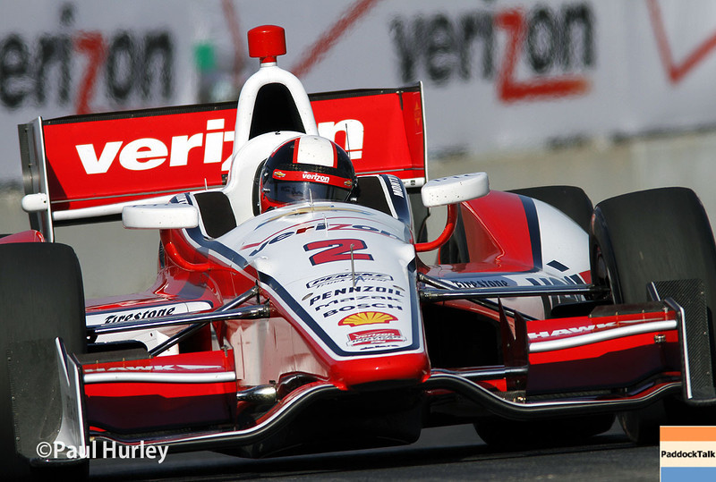 May 31: Juan Montoya during qualifying for Race 1 of the Chevrolet Detroit Belle Isle Grand Prix.