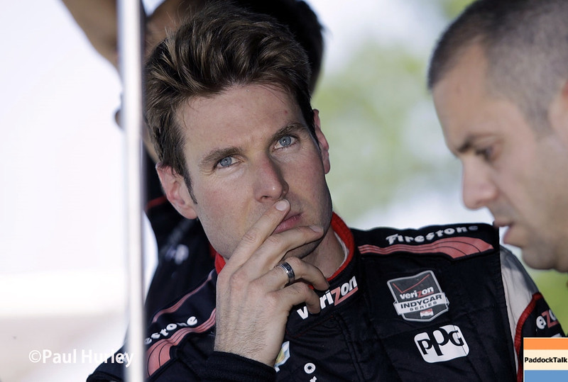 May 30: Will Power during practice for the Chevrolet Detroit Belle Isle Grand Prix.