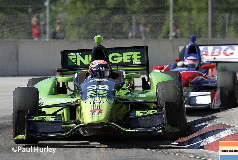 June 1: Jack Hawksworth during Race 2 of the Chevrolet Detroit Belle Isle Grand Prix.