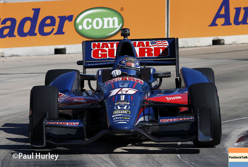 May 31: Graham Rahal during Race 1 of the Chevrolet Detroit Belle Isle Grand Prix.