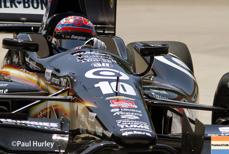 May 30: Tony Kanaan during practice for the Chevrolet Detroit Belle Isle Grand Prix.
