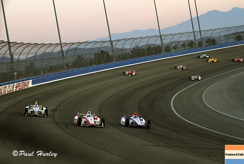 August 30:Race start during the MAVTV 500 race at Auto Club Speedway.