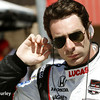 August 29: Simon Pagenaud during MAVTV 500 practice and qualifications at Auto Club Speedway.