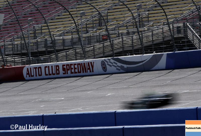 August 29: Track action during MAVTV 500 practice and qualifications at Auto Club Speedway.