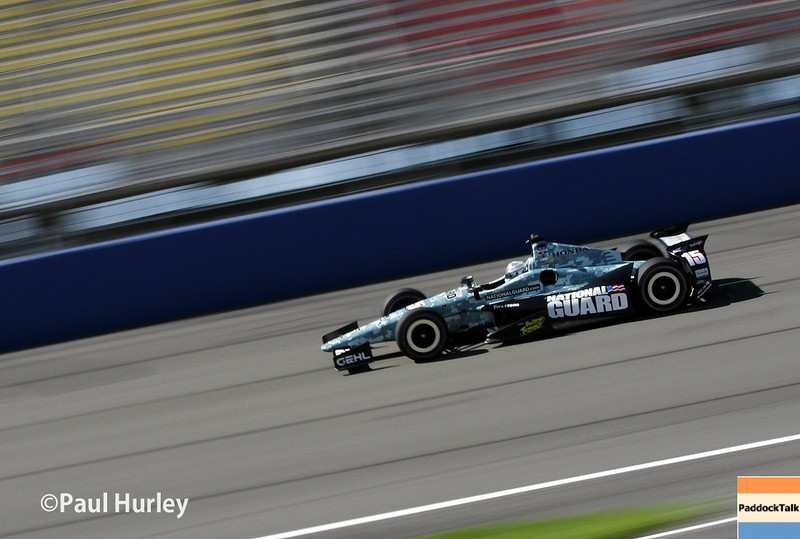 August 29: Graham Rahal during MAVTV 500 practice and qualifications at Auto Club Speedway.