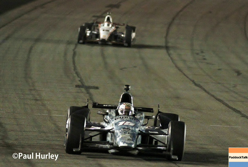 August 30:Graham Rahal during the MAVTV 500 race at Auto Club Speedway.