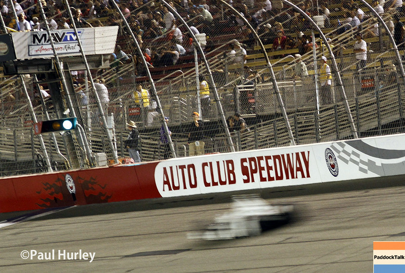 August 30:Main straight during the MAVTV 500 race at Auto Club Speedway.
