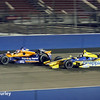 August 30:Charlie Kimball and Marco Andretti during the MAVTV 500 race at Auto Club Speedway.