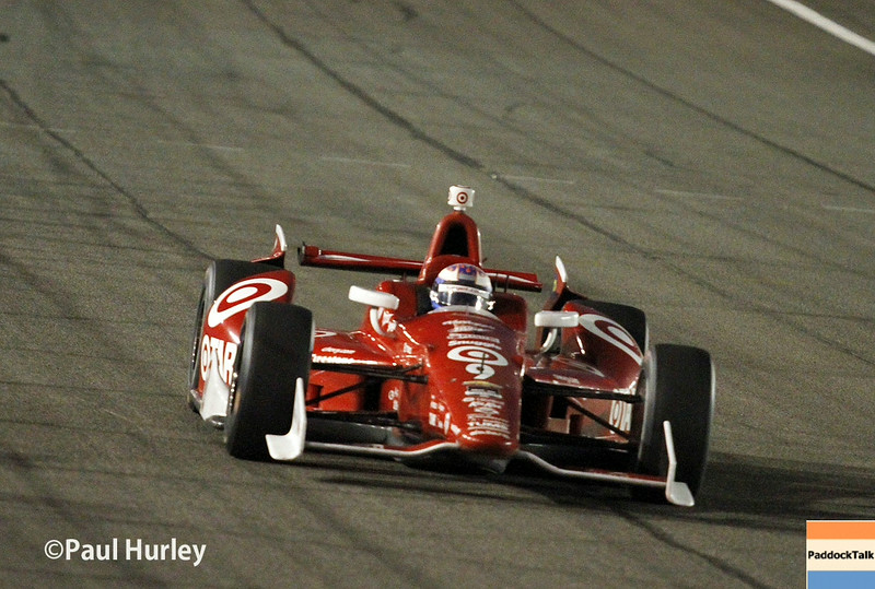 August 30:Scott Dixon during the MAVTV 500 race at Auto Club Speedway.