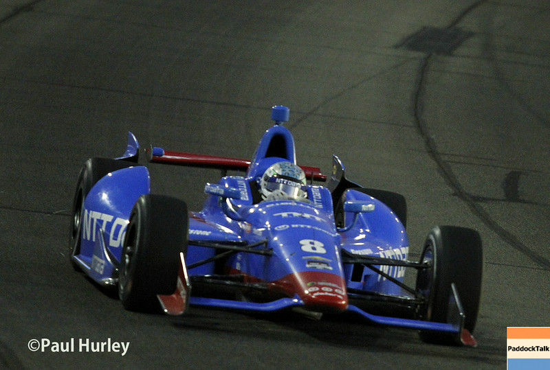 August 30:Ryan Briscoe during the MAVTV 500 race at Auto Club Speedway.