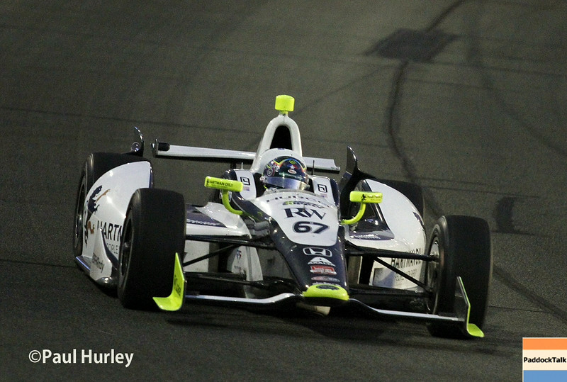 August 30:Josef Newgarden during the MAVTV 500 race at Auto Club Speedway.
