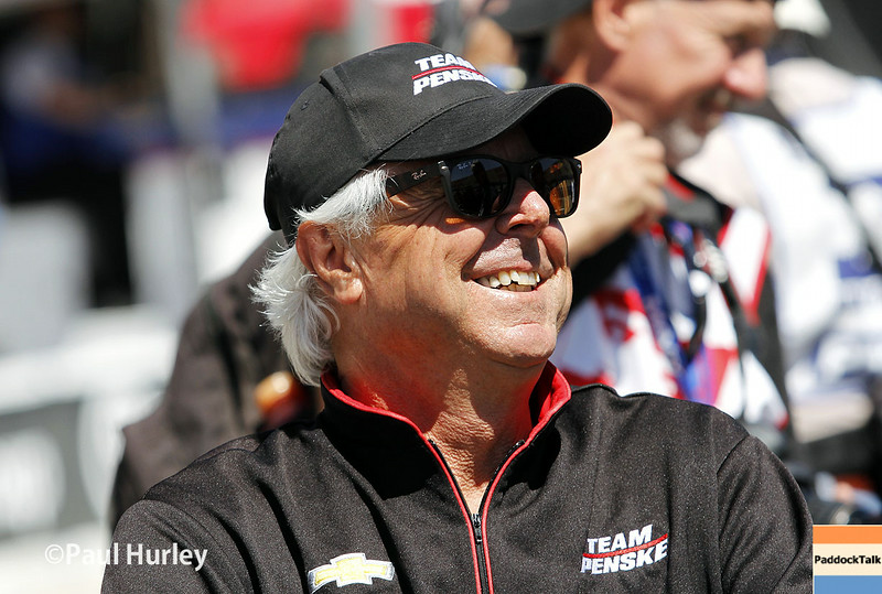 August 29: Rick Mears during MAVTV 500 practice and qualifications at Auto Club Speedway.