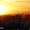 August 30:Sunset during the MAVTV 500 race at Auto Club Speedway.