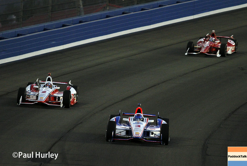 August 30:Race action during the MAVTV 500 race at Auto Club Speedway.