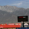 August 29: The view of the mountains during MAVTV 500 practice and qualifications at Auto Club Speedway.