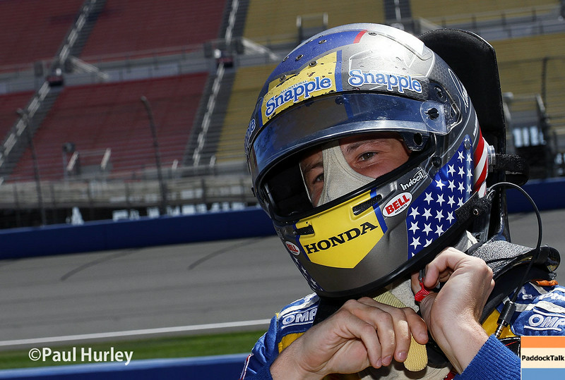 August 29: Marco Andretti during MAVTV 500 practice and qualifications at Auto Club Speedway.