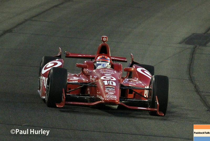 August 30:Tony Kanaan during the MAVTV 500 race at Auto Club Speedway.