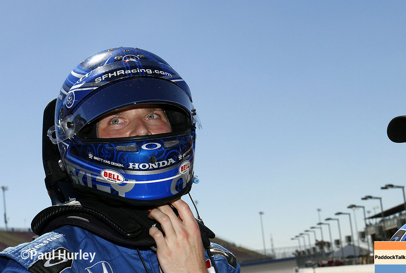 August 29: Josef Newgarden during MAVTV 500 practice and qualifications at Auto Club Speedway.