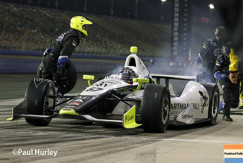 August 30:Josef Newgarden during the MAVTV 500 race at Auto Club Speedway.