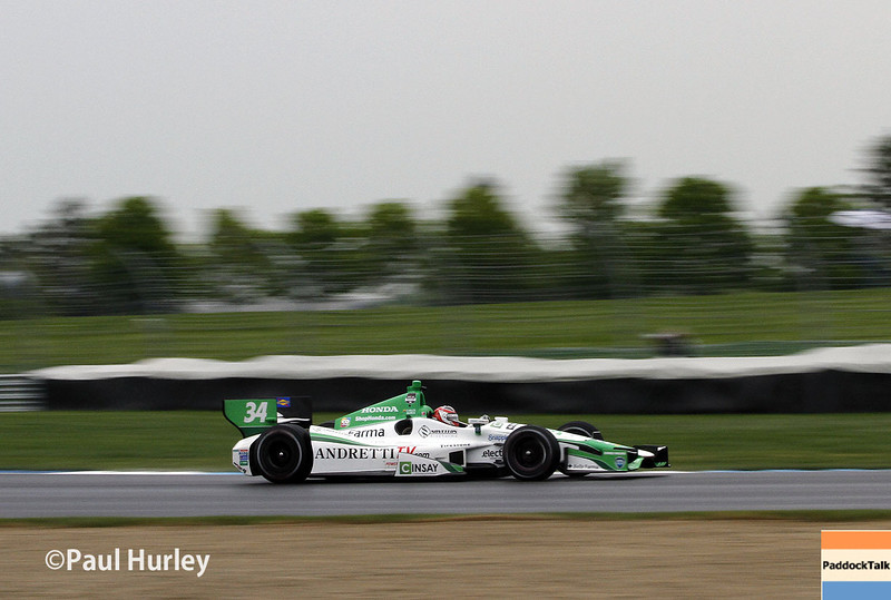 May 9: Carlos Munoz during practice and qualifications for the Grand Prix of Indianapolis