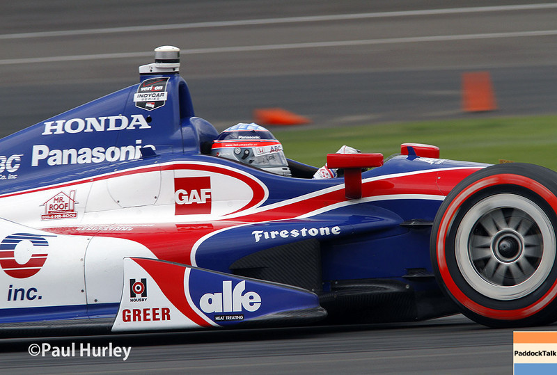 May 9: Takuma Sato during practice and qualifications for the Grand Prix of Indianapolis