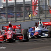 May 10: Scott Dixon and Ryan Briscoe during the Grand Prix of Indianapolis.