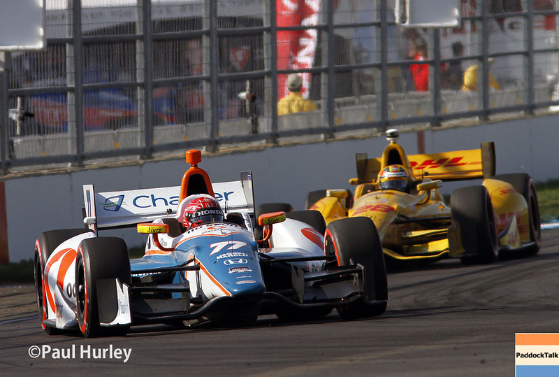 May 10: Simon Pagenaud during the Grand Prix of Indianapolis.