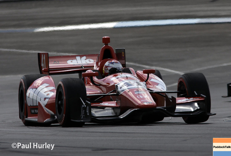 May 10: Martin Plowman during the Grand Prix of Indianapolis.