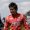 May 10: Sebastian Saavedra during the Grand Prix of Indianapolis.