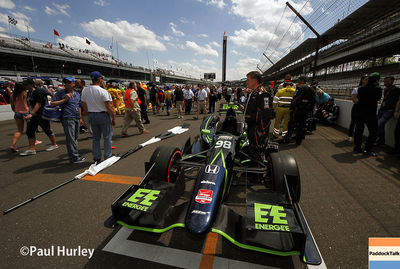 May 10: Grid during the Grand Prix of Indianapolis.