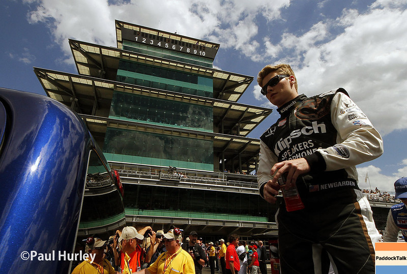 May 10: Josef Newgarden during the Grand Prix of Indianapolis.